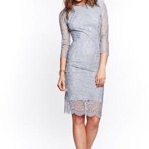For Love & Lemons Blue Lace Dress